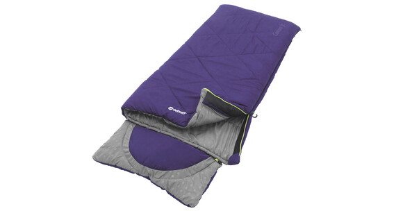 Outwell Contour Junior Sleeping Bag purple